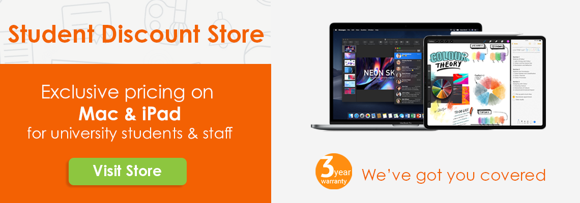 Visit the Student Discount Store for Exclusive Pricing on Mac or iPad