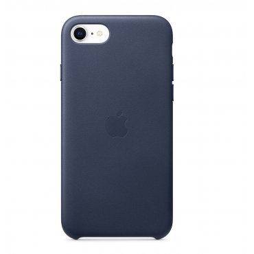 iPhoneSE Leather Case Midnight Blue