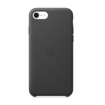 iPhoneSE Leather Case Black