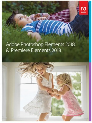 Adobe Photoshop Elements 2018 and Premiere Elements 2018