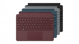 Surface Go Signature Type Cover – Platinum