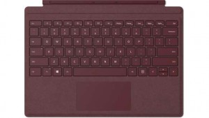 Surface Pro Signia Type Cover - Burgundy