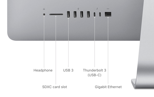 iMac Connectivity